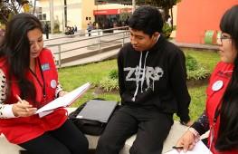 Jóvenes de la ONG Proética