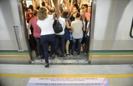 El metro de Brasilia ha instituido un vagón exclusivo para las mujeres. La mayoría de las usuarias han dicho que se sienten más seguras contra abusos sexuales.