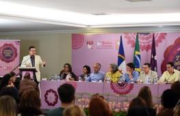 Beto Albuquerque durante abertura do II Encontro Internacional de Mulheres Socialistas do PSB, realizado em dezembro de 2015, no Recife (Pernambuco). Foto: Humberto Pradera