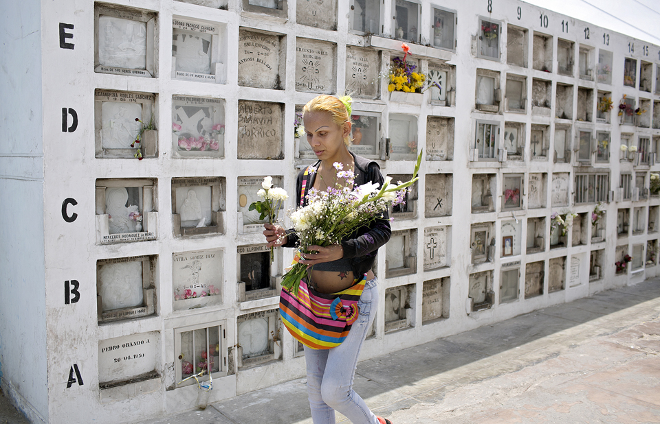 "Nearly every week, Yasuri visits the Baquijano Cemetery to leave flowers and pray at a Peruvian saint's tomb. She said that she can no longer stand prostitution. ""It makes me sick,"" said Yasuri, who dreams of having a family and getting married one day."