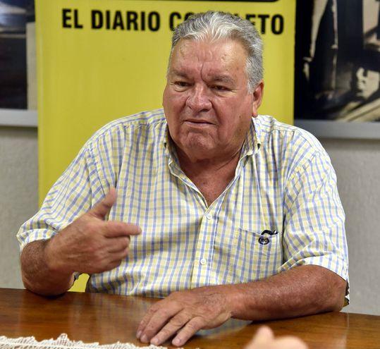 Dirigente político del PRF Paraguay, Nils Candia Gini